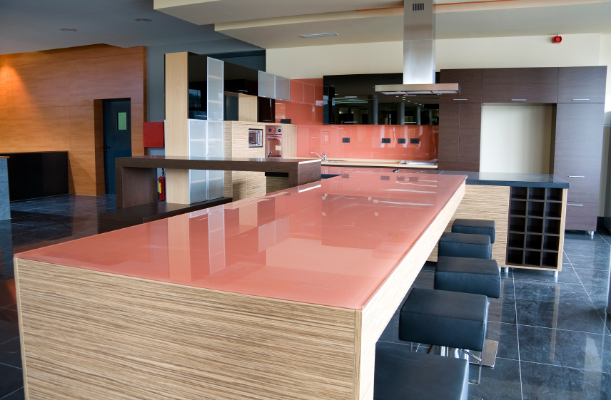 6 kitchen countertop options that aren t granite On tempered glass countertop